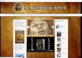 Page d'accueil du Labyrinthe de la Folie