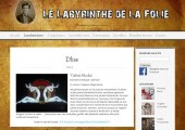 Présentation et référencement des artistes sur le site de l'association