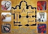 Dos du flyer de l'exposition Le Labyrinthe de la Folie