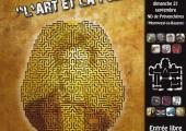 Affiche conférence L'art et la folie, association Le Labyrinthe de la Folie