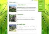 Site web Le Mas Rocher, location de gîtes en Ardèche