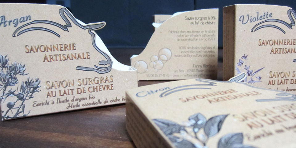 Packaging savon artisanal