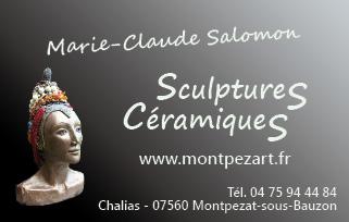 Carte De Visite MC Salomon Ct Sculpture